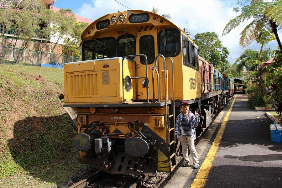 キュランダ鉄道 その1