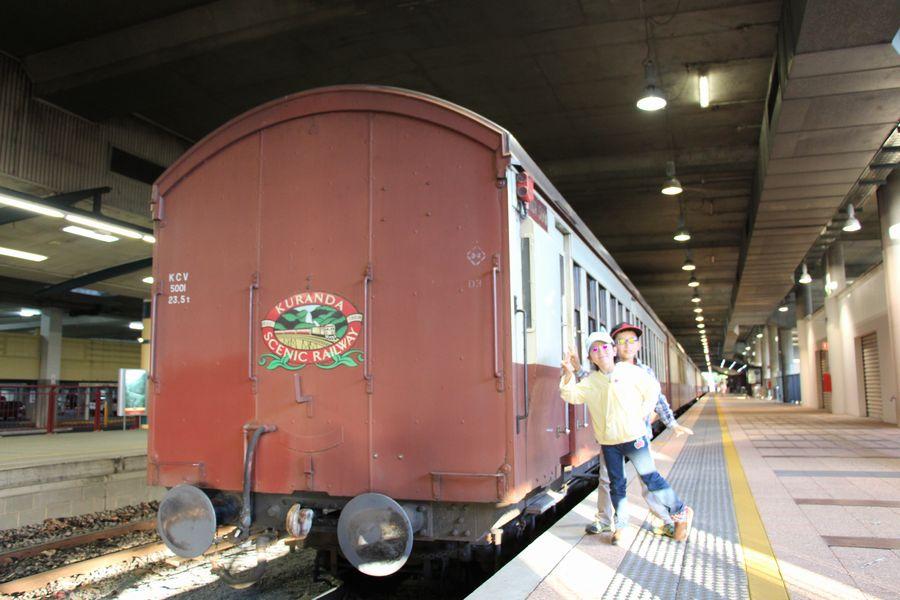 キュランダ鉄道 その4