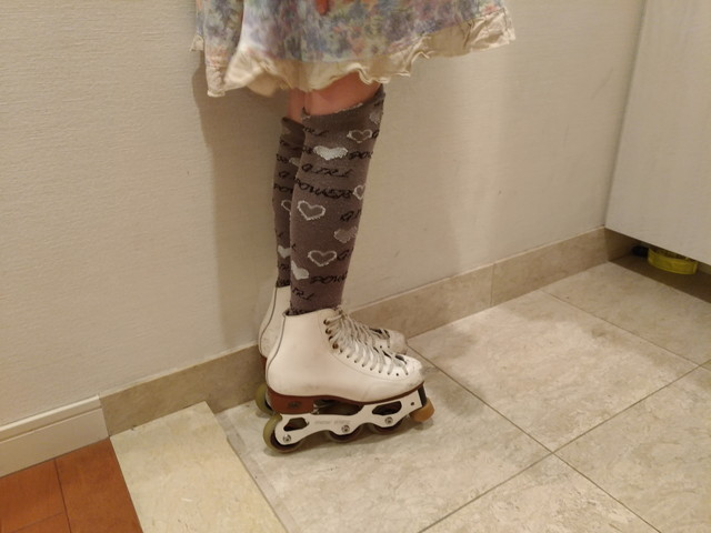 インラインスケート その1