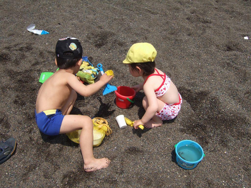 《とり》と《いぬ》@城南島海浜公園