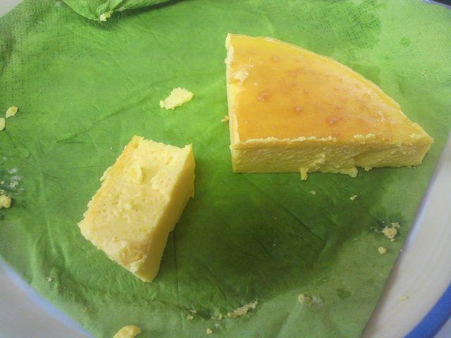 かぼちゃのチーズケーキ その2