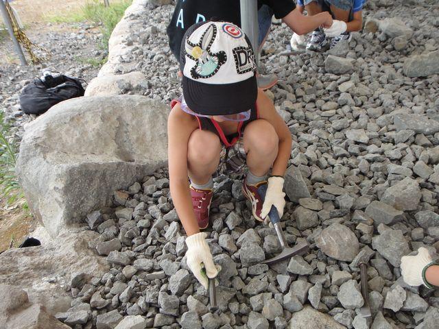 恐竜化石発掘体験 その1