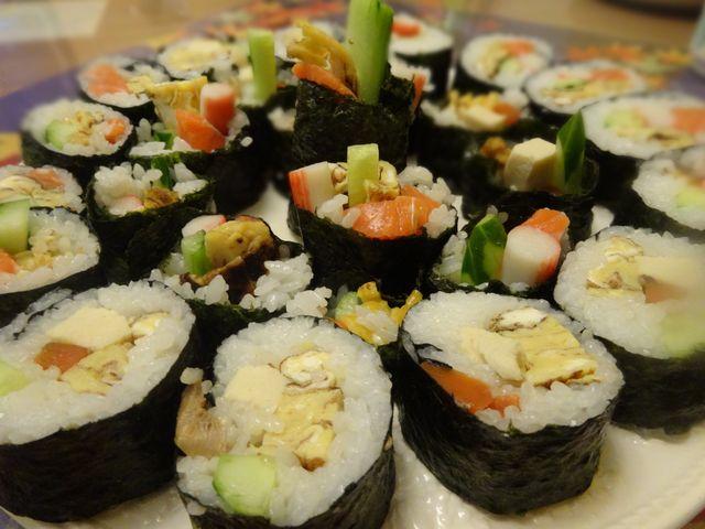 巻き寿司 その1