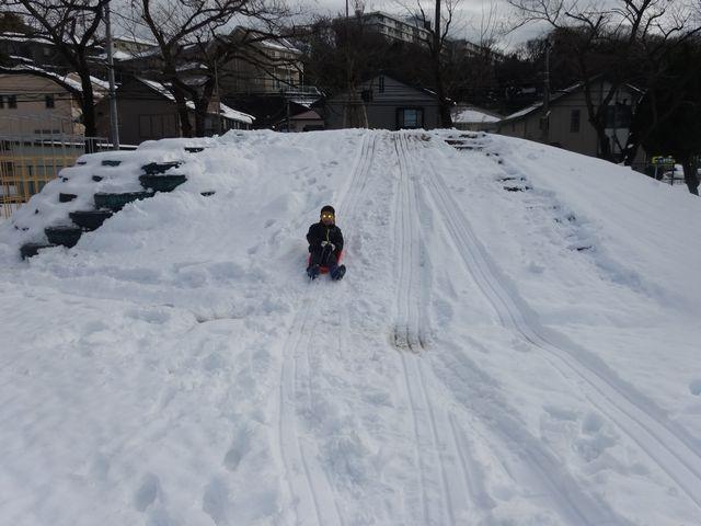 雪遊び その2