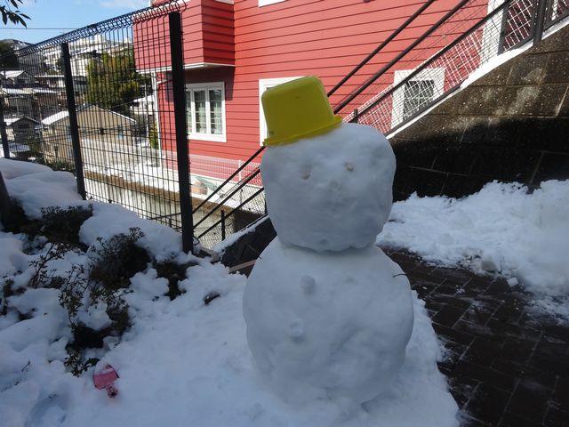 雪遊び その5