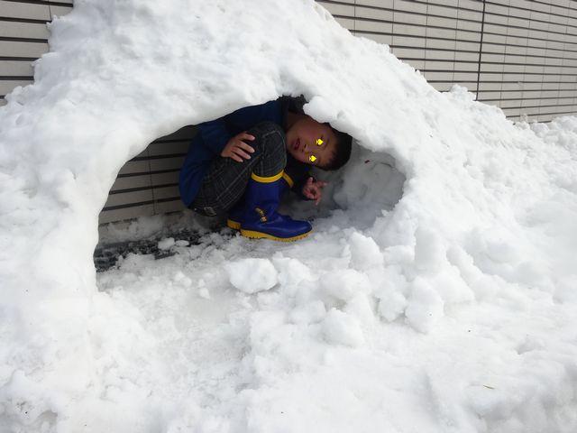 雪遊び その6