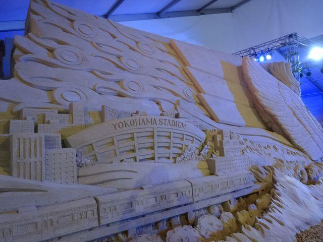 ヨコハマ砂の彫刻展 その2