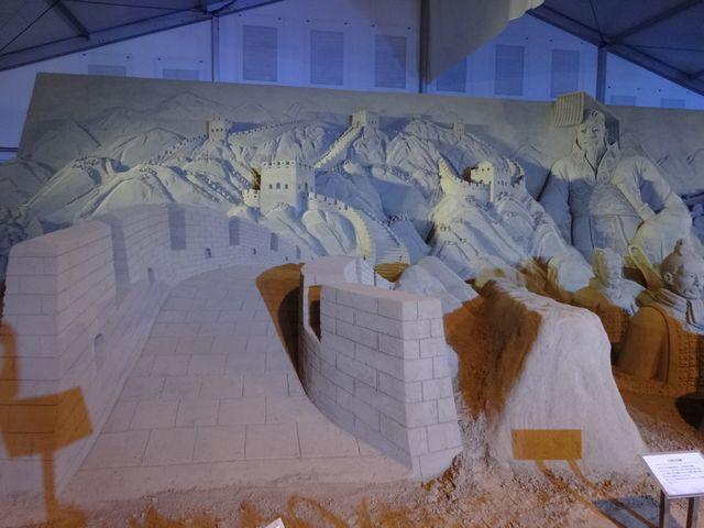ヨコハマ砂の彫刻展 その3