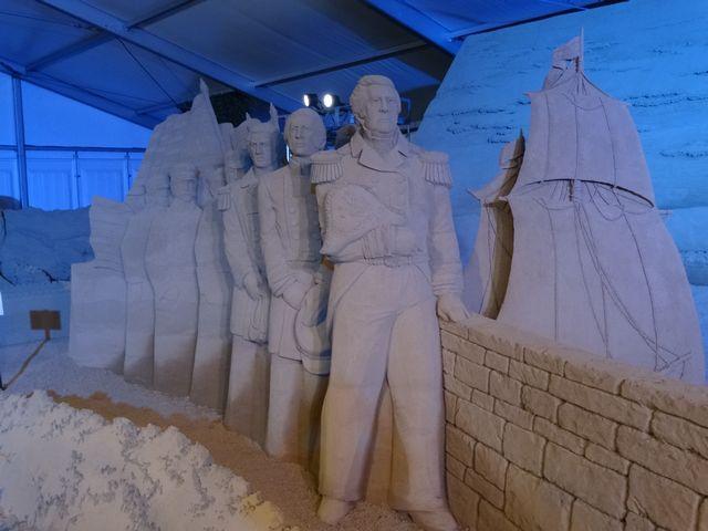 ヨコハマ砂の彫刻展 その5