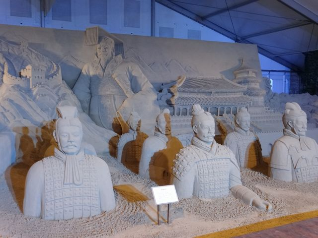 ヨコハマ砂の彫刻展 その4