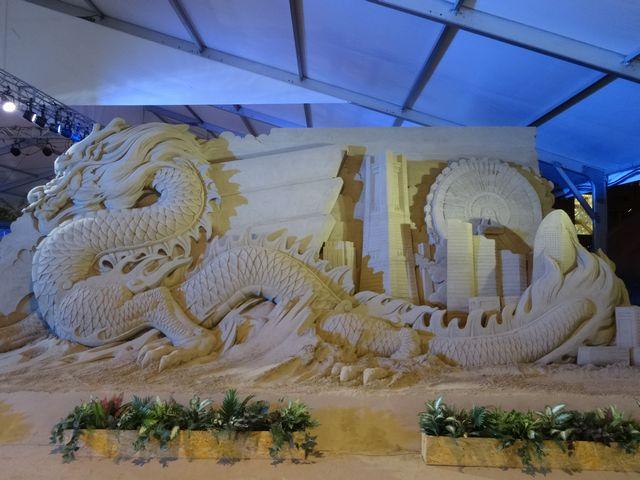 ヨコハマ砂の彫刻展 その1