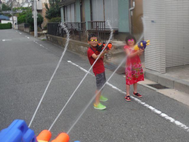 水鉄砲 その1