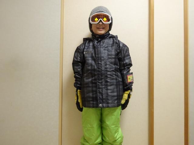 スキー準備 その1
