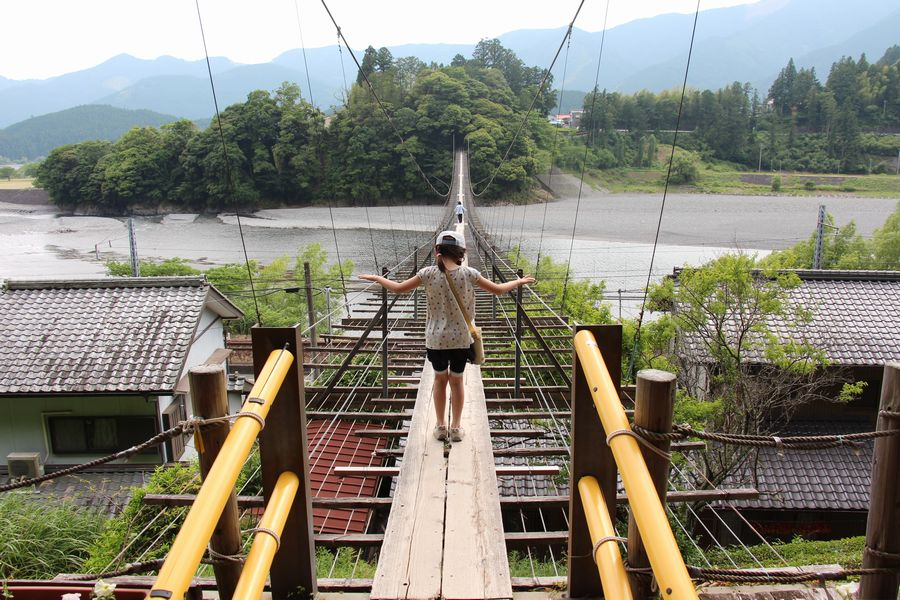 塩郷の吊橋 その1