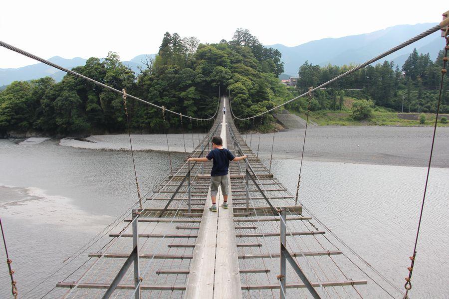 塩郷の吊橋 その2
