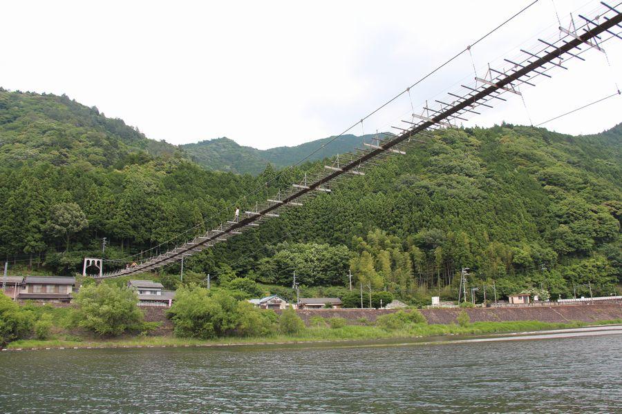 塩郷の吊橋 その3