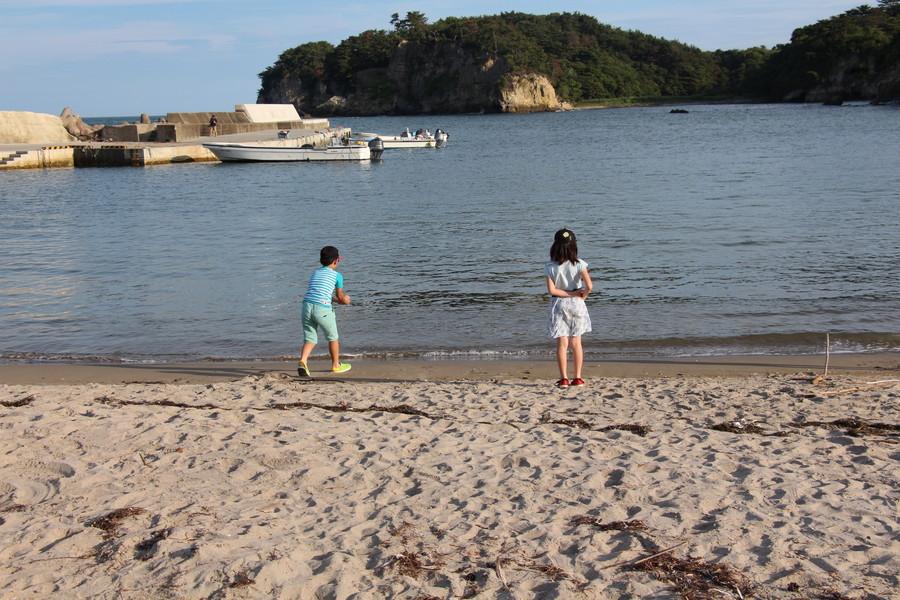 砂浜 その1