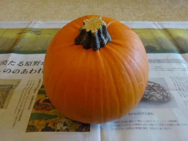 ハロウィンかぼちゃ その1