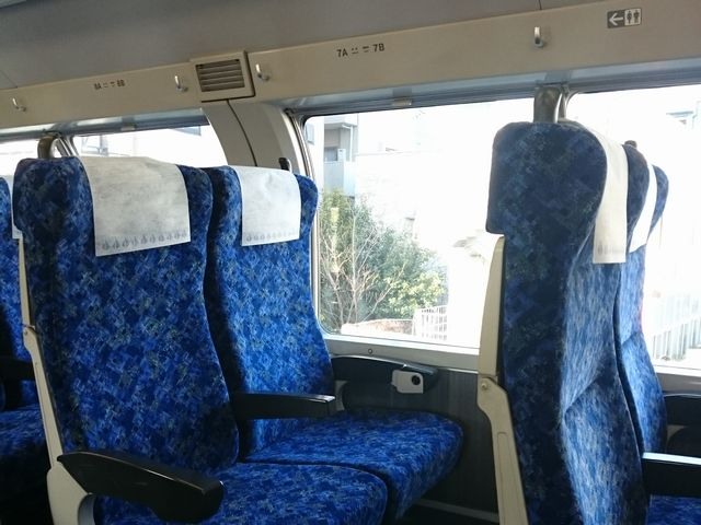 普通列車グリーン車