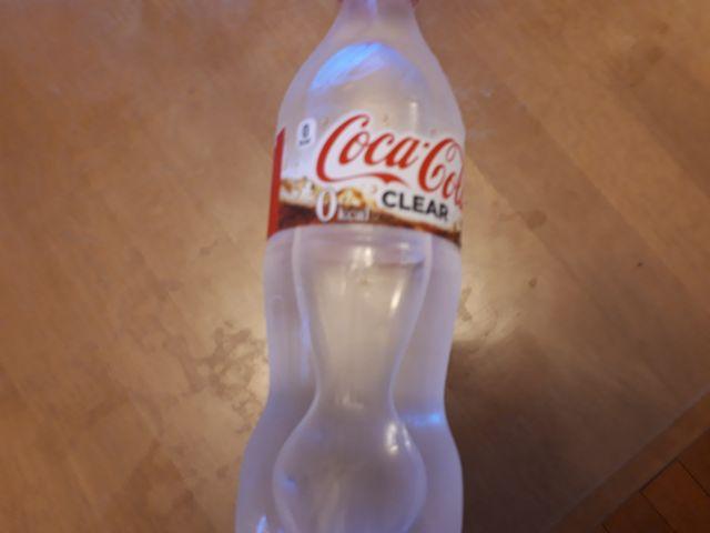 透明のコーラ