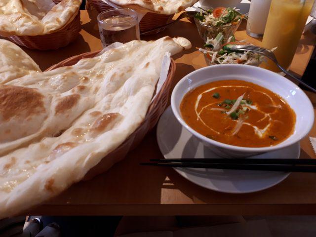 ランチのネパール料理