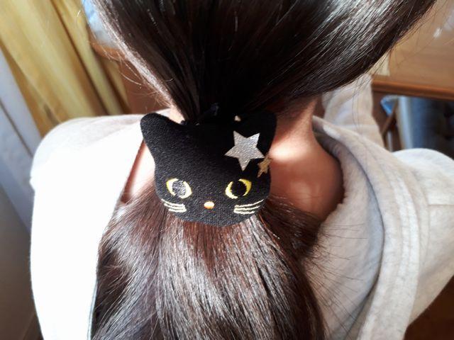 ハロウィン髪飾り