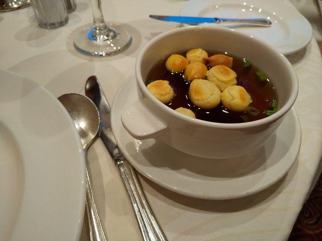 ビーフコンソメスープ