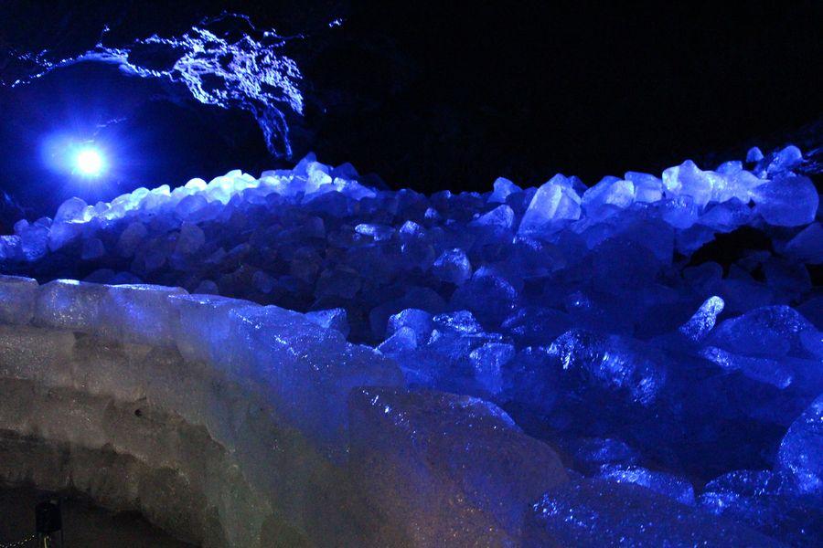 鳴沢氷穴 その3