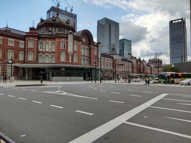 東京駅地上