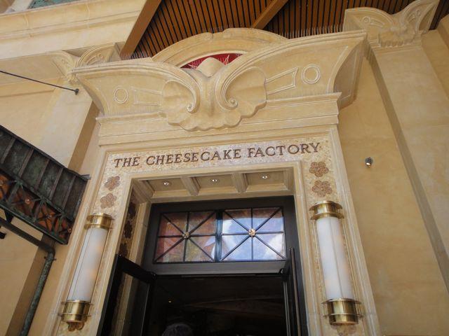 チーズケーキファクトリー その1