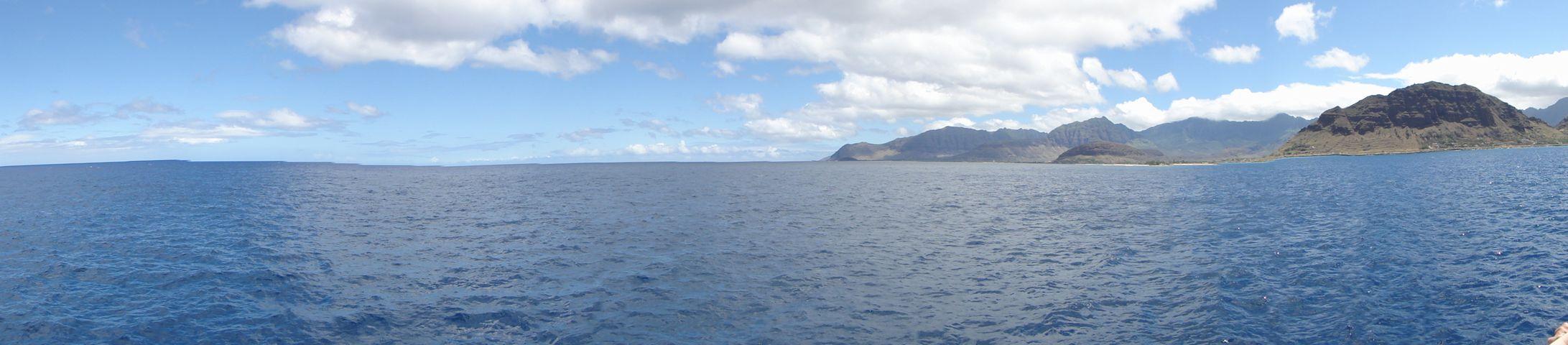 船上の景色 その1