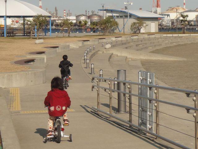 自転車練習 その1