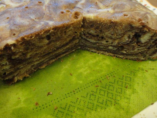 マーブルケーキ その2