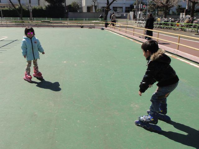 インラインスケート その2