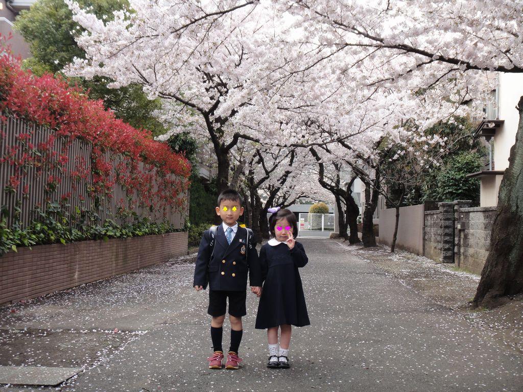 桜の下で その1