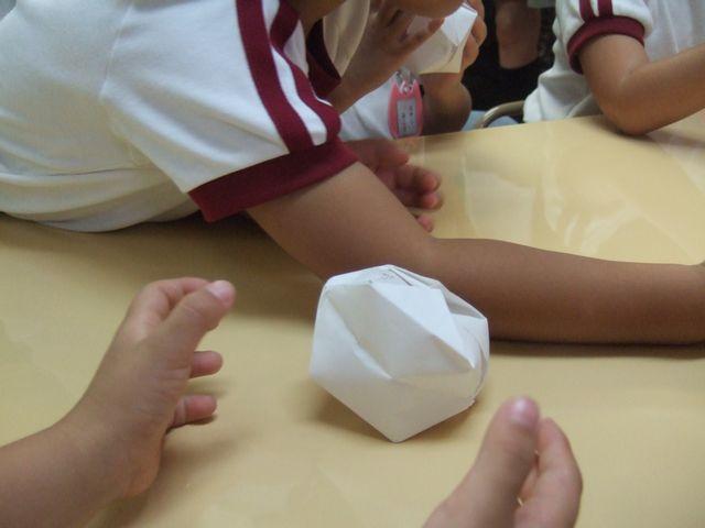 幼稚園 紙風船