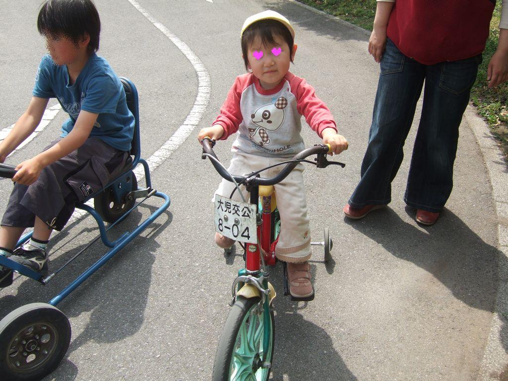 《いぬ》自転車