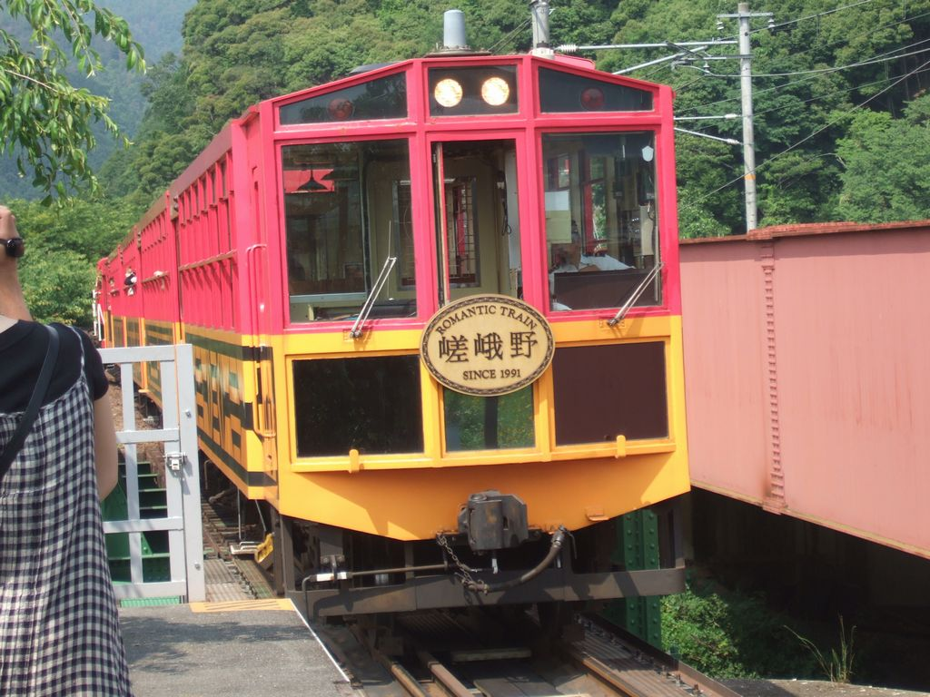 嵯峨野トロッコ列車 その2